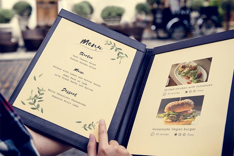 imprenta restaurantes